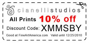 Discount On All Prints Until Christmas